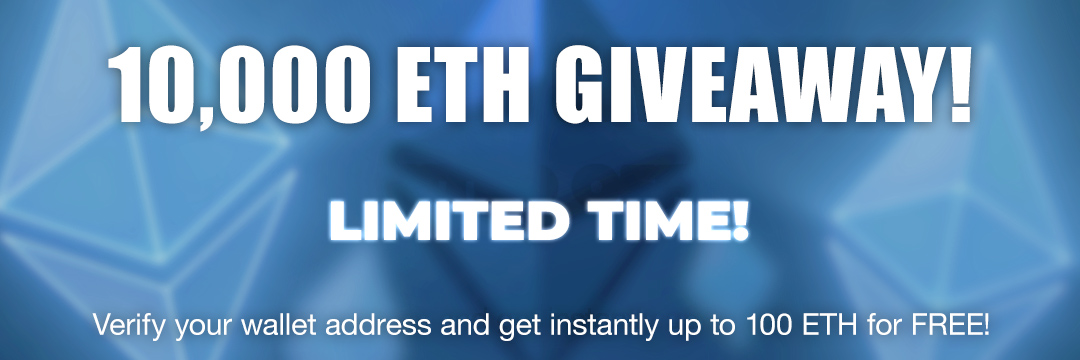 10,000 ETH Giveaway
